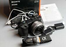 Sony Alpha a6300 Body 24.2MP E-Mount APS-C Mirrorless Camera Black (12853 Shots)