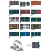 Berisfords Scottish Approved Tartan Ribbon 7 10 16 MM Widths Sewing/Crafts