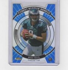2012 FINEST ATOMIC REFRACTOR#FAR-NF NICK FOLES
