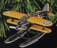 Hallmark 1925 Curtiss R3C-2 Seaplane ornament 1999 Sky's the Limit