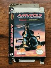 Airwolf Air Wolf NES Nintendo Empty Box Only