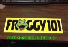 Froggy 101 Desk Sticker THE OFFICE Dwight Schrute Michael Scott Bumper TV Show
