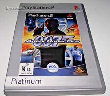 James Bond 007: Agent Under Fire PS2 (Platinum) PAL *Complete*