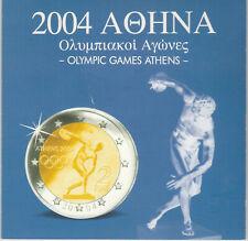 Griechenland.Euro-Kursmünzensatz 2002-2004.Olympic Games.!!#37