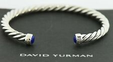 David Yurman Sterling Silver Bangle Bracelet 5mm