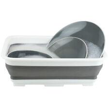 Collapsible Silicone/Plastic Multi use  Wash Bin Portable Washing Basin Dishpan