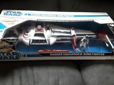 STAR WARS LEGACY B-WING FIGHTER 2008 DAGGER SQUADRON MISB sealed