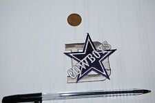 "Dallas Cowboys ""D"" ""STAR"" ""SCRIPT""  Logo Patch  Football"