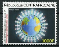 Central African Rep Medical Stamps 2020 MNH Corona Health Workers 1v Set