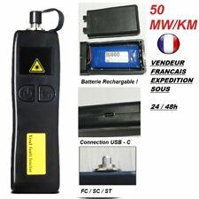 RECHARGEABLE ! Puissant visual fault laser fibre optique vfl 50MW -(USB-C) stylo