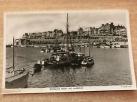 Ramsgate from the Harbour, Tuck & Sons Real Photo Print Postcard c.1950's
