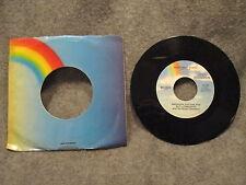 "45 RPM 7"" Record Andrew Sisters & Guy Lombardo Winter Wonderland MCA-65020 VG+"