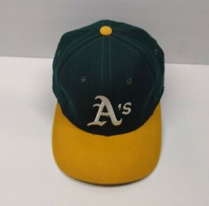 Vintage 90's Oakland A's Athletics Sports Specialties Pro Fitted 7-1/8 Cap Hat