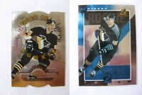 1997-98 Zenith 18 of 18 Morozov Alexei silver z-team  penguins