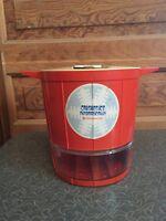 Vintage Mid Century Orange Toastmaster Ice Crusher