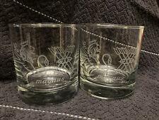 Jos. A. Magnus & Co. Distiller Brand Heavy Rocks Glasses 3.5