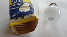 5x lot ~ GE LIGHT BULBS MAZDA LAMPS 30A15 Frost 15W 130V
