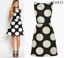 ex Coast Dress - Coast Millana May Spot Print A-Line Shift Occasion Dress