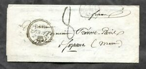 p91 - LONDON 1858 SFL Cover to FRANCE