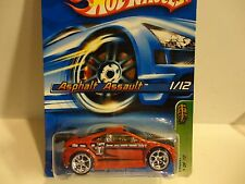 2006 Hot Wheels Treasure Hunt #39 Red Asphalt Assault w/Real Riders
