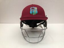 Black Ash Pro West Indies Cricket Batting Helmet Adjustable Maroon
