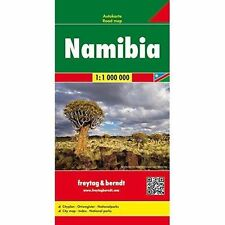 Namibia: FB.350 by Freytag-Berndt (Sheet map, 2011)