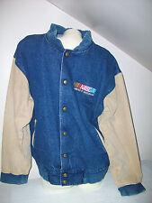 Men's Size Medium Nascar 100% Cotton Denim Jacket