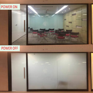 70mmx70mm Smart Windows PDLC Switchable Glass Film Opaque Privacy Window Tint