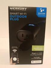 Merkury Innovations Indoor Outdoor Smart WiFi Plug, No Hub Required NEW