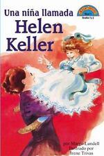 Una nina llamada Helen Keller: (Spanish language edition of A Girl Nam-ExLibrary