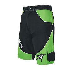 Shorts, ST-Hardride New Generation, schwarz/grün