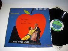 BERNARD SHAW The Apple Cart: Poems By Noel Coward CAEDMON VG++