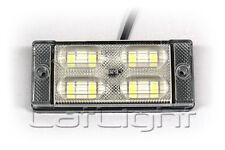 LED Rückfahrscheinwerfer Rückfahrleuchte 8 Dioden 12 24 Volt PKW LKW Camper Bus
