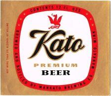 Kato Premium Beer 12oz (Flat Gold) Mankato MN Tavern Trove