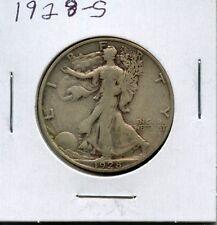 *** Beautiful 1928-S Walking Liberty Silver Half Dollar***