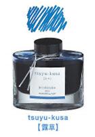 Pilot INK-50-TS Iroshizuku Fountain Pen Ink Blue (tsuyu-kusa) 50ml Bottle 367274