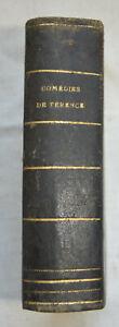 1863 Les comédies de Terence Traduction nouvelles Par Victor Bètolaud - rel cuir