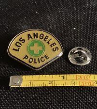 Los Angeles California Police Medic Badge Vintage Pin Badge