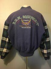 Vtg 1990s 90s Bum Equipment Varsity Jacket Mens M B.U.M. Wool Plaid Stadium Coat