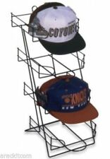 For Sale Counter Sport Cap & Cap Display Rack - 4 Pocket (Black)
