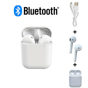 Bluetooth Wireless Earphones & Charging Pod - Mobile Phone Headphones Earphones