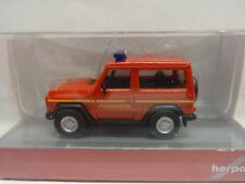 Herpa 093170 Mercedes Benz G-Modell Feuerwehr Einsatzleitung 1:87 Neu