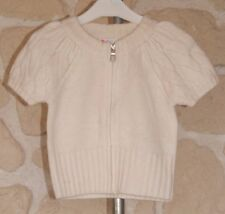 Gilet ivoire neuf taille 4 ans marque NUCLEO avec laine étiqueté à 29,99€ (b)