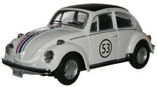CARARAMA 11840 VW Beetle 'Herbi 53' White 1/43 Scale - New Boxd - 1st Class Post