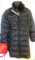 UGG australia 50% down Quilted puffer coAT  Parka Black  with genuine fur