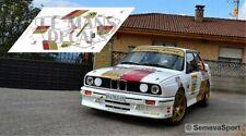 Decals BMW M3 E30 Rally Legends Asturias 2018 1:32 1:24 1:43 1:18 slot calcas