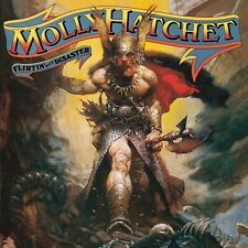 Molly Hatchet Flirtin With Disaster Banner Huge 4X4 Ft Tapestry Fabric Poster