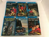 Lot 6 The Hardy Boys Mystery Stories Flashlight Series Books Hard 2,3,4,5,6,10