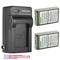 Kastar Battery AC Wall Charger for Olympus BLS-5 & Olympus OM-D E-M10 Mark III
