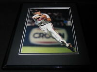 Cal Ripken Throwing Framed 11x14 Photo Display Baltimore Orioles B